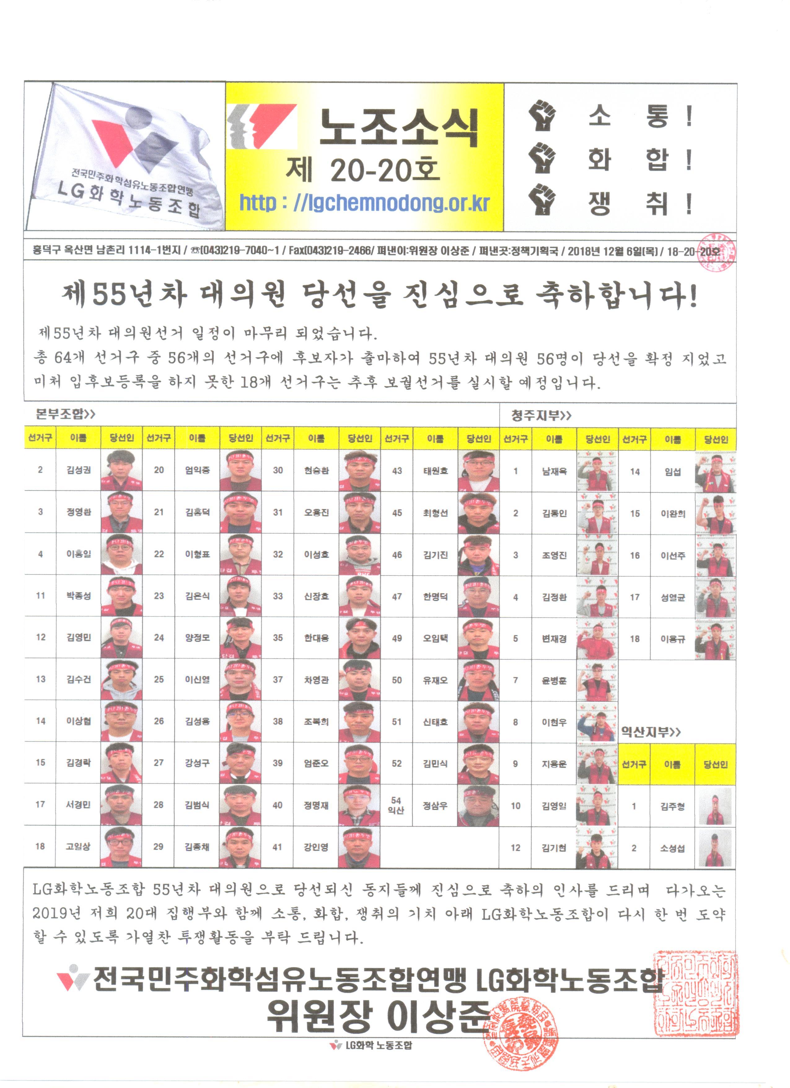 노조소식지 20-20호(18.12.06)